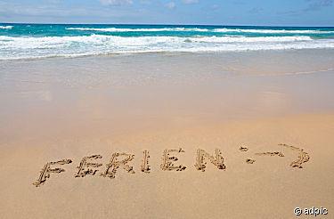 Ferien am Strand